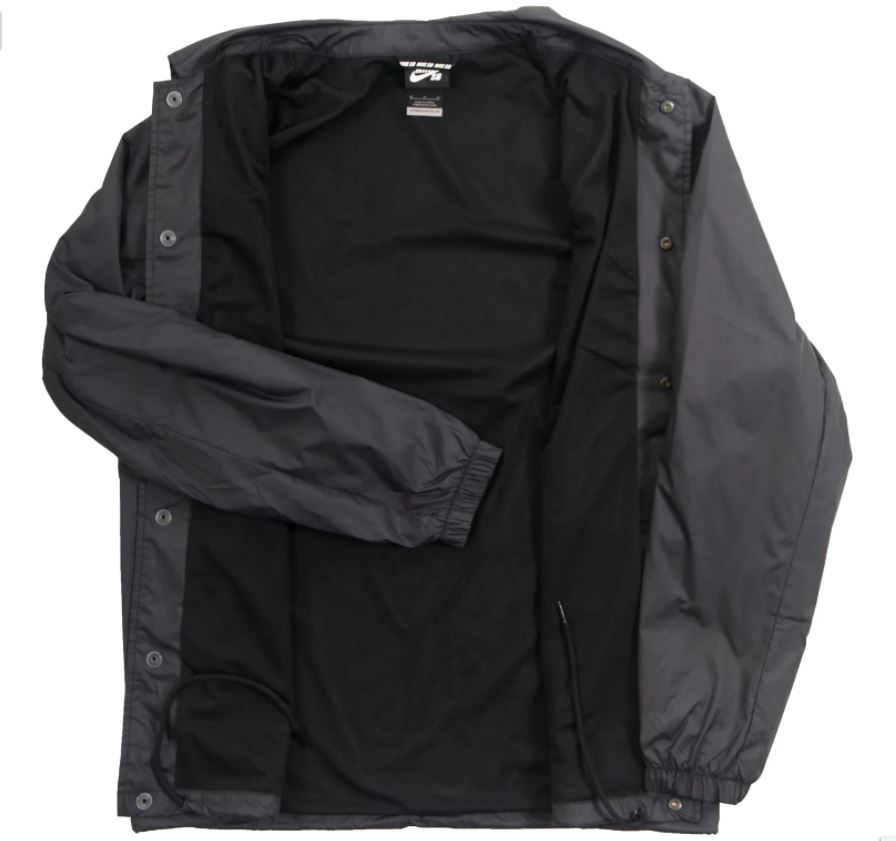 61484c7638b5 The product is already in the wishlist! Browse Wishlist · Nike SB Shield  Black Coaches Jacket