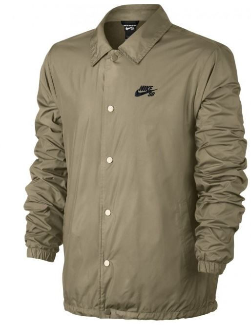 169b0312 Nike SB Shield Olive Coaches Jacket. Buy it now from Clines