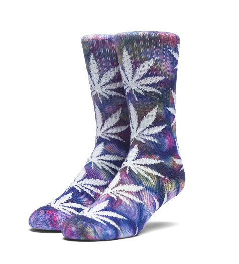 HUF Tie Dye Plantlife Multi Colour Socks