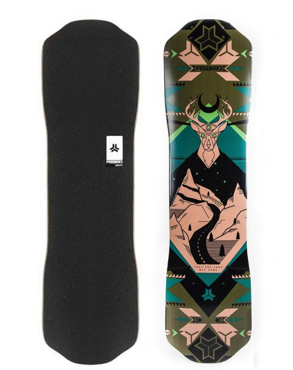 Freebord Mountaineer Maple Deck
