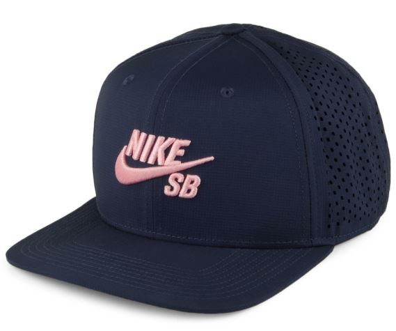 Nike SB Icon Navy/Pink Performance Snapback