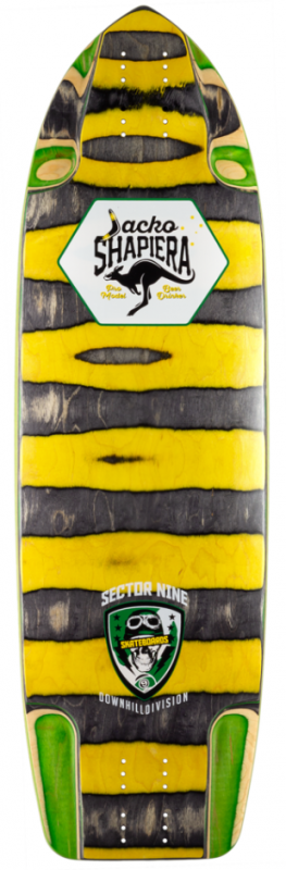 "Sector 9 Jacko Ripped Pro 33.25"" Deck"