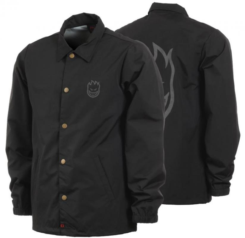 Spitfire Head Black/Reflective Grey Jacket