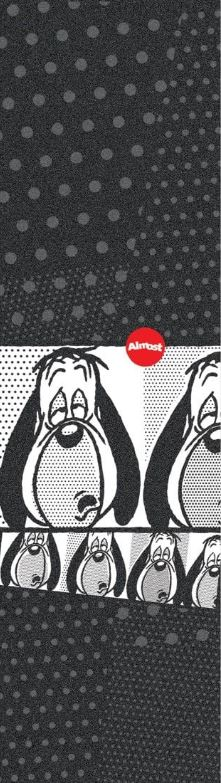 """Mob x Almost Droopy 9"""" Griptape"""