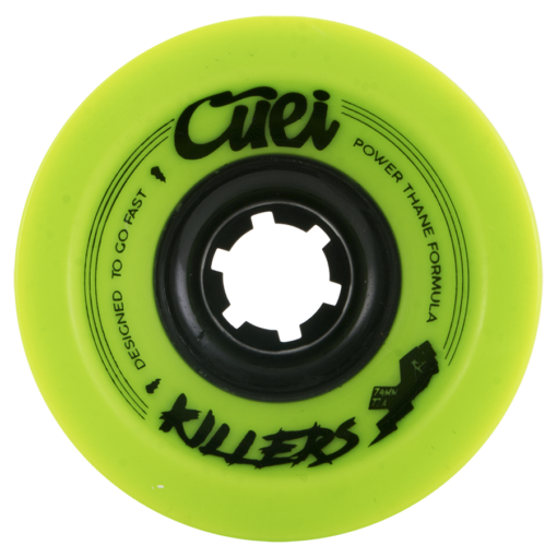 Cuei Killers 74mm x 77a Power Thane Race Wheels