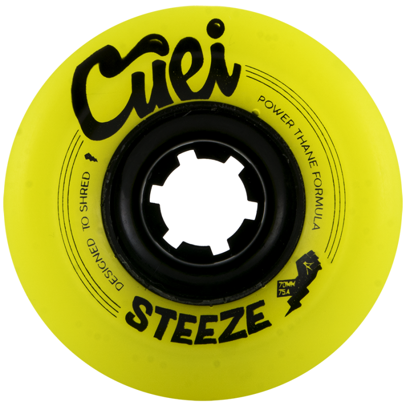 Cuei Steeze 70mm x 75a Power Thane Freeride Wheels