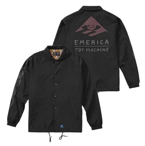Emerica x Toy Machine Darkness Jacket