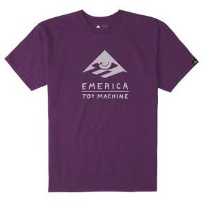 Emerica x Toy Machine Purple Tee