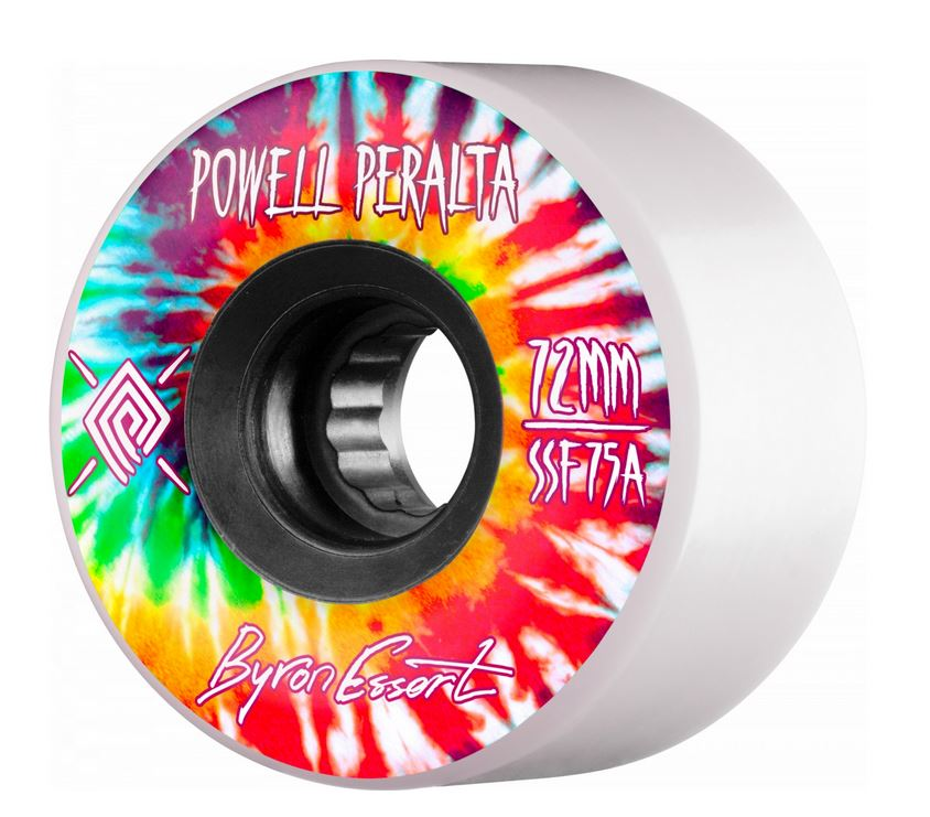 Powell Peralta Byron Essert 72mm 75a SSF Freeride Wheels