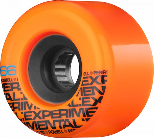 Powell Peralta Pasters 69mm x 78a Orange Freeride Wheel