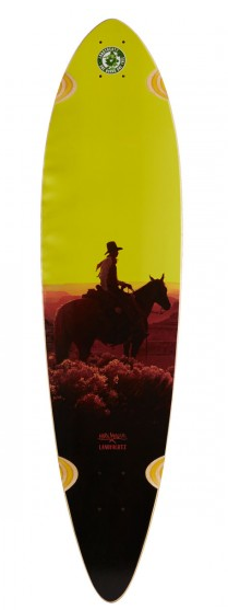Landyachtz Bamboo Totem Sunset Kid 41″ Deck