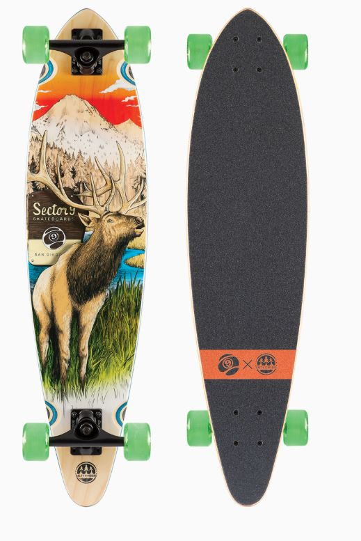 "Sector 9 Stag Swift Bamboo Series 34.5"" Complete"