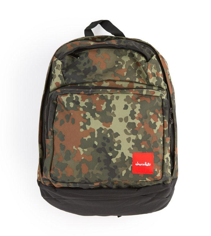 Chocolate New Simple Camo Backpack