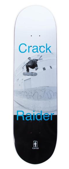 "Girl Mike Carroll Crack Raider Capsule 8.375"" Deck"