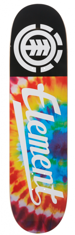 "Element Tye Dye Script 8"" Deck"