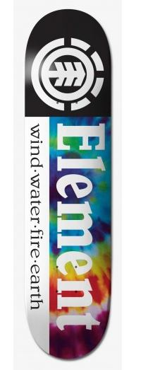 "Element Tye Dye Section 7.75"" Deck"