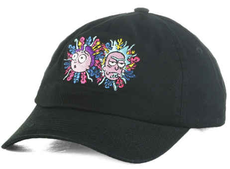 Primitive Rick and Morty Logo Dad Hat
