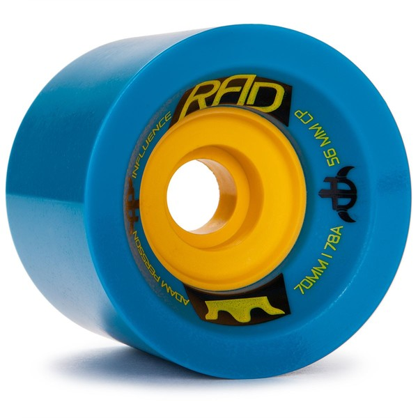RAD Adam Persson Influence 70mm x 78a Blue Wheels