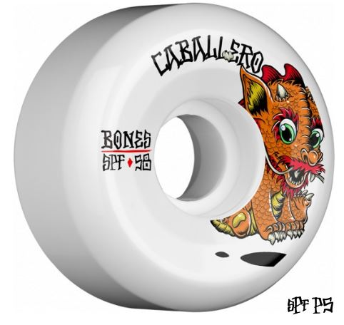 Bones SPF Caballero Baby Dragon Pro 58mm x 84B Wheels