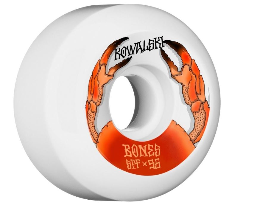 Bones SPF Kowalski 56mm x 84b Wheels