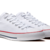 Converse CTAS Pro Low Canvas White/Red Shoes