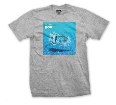DGK Pool Heather Grey Tee
