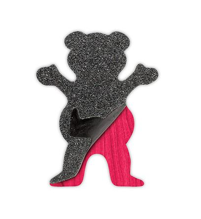 Grizzly Griptape Cut Out Bear Sticker