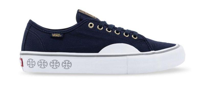 9ab5efda74 Vans x Independent AV Classic Pro 2 Dress Blue Shoes at online Clines!