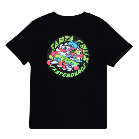 Santa Cruz Grommet Black Youth Tee