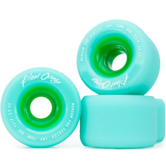 Blood Orange Liam Morgan Seafoam 70mm x 80a Wheels