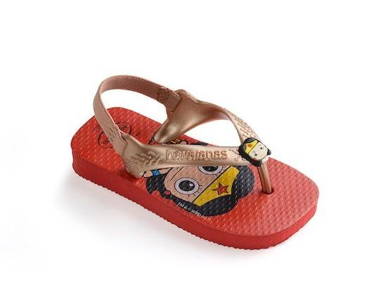 Havaianas Baby New Herois Ruby Red Thongs