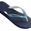 Havaianas Men's Top Mix Navy Blue-Mineral Blue Thongs1