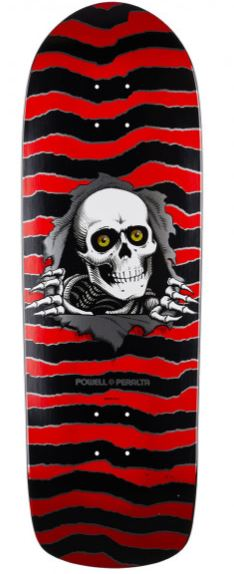 "Powell Peralta Old Skool Ripper Red 10"" Deck"