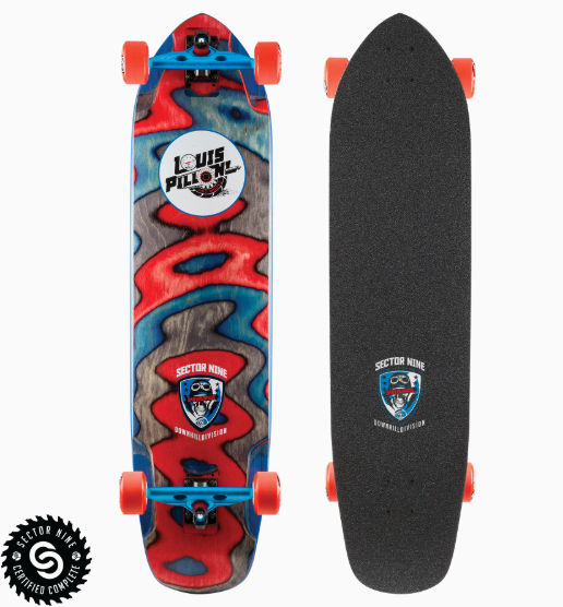 "Sector 9 Louis Pilloni Ripped Pro 39.5"" Complete"