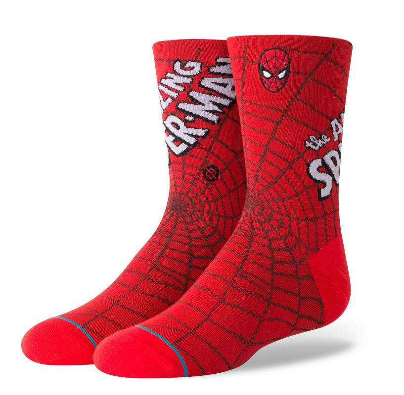 Stance Boys Socks - Amazing Spiderman