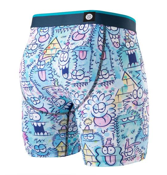 4242a88c8f6e Stance Underwear - Monster Watercolour Boxer Briefs. Buy now with ...