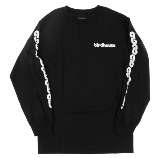Birdhouse B Chain Black Long Sleeve Tee