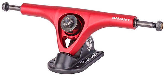 Paris Savant Red/Black 50° 180mm Trucks