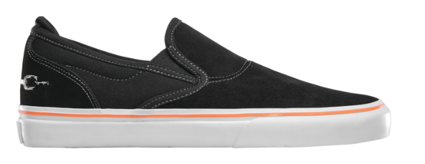 Emerica Wino G6 x Funeral French Black Shoes