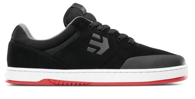 Etnies Marana Black/White/Red Shoes