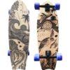 Gold Coast Longboards Wanderlust Blue Swirl Surfskate