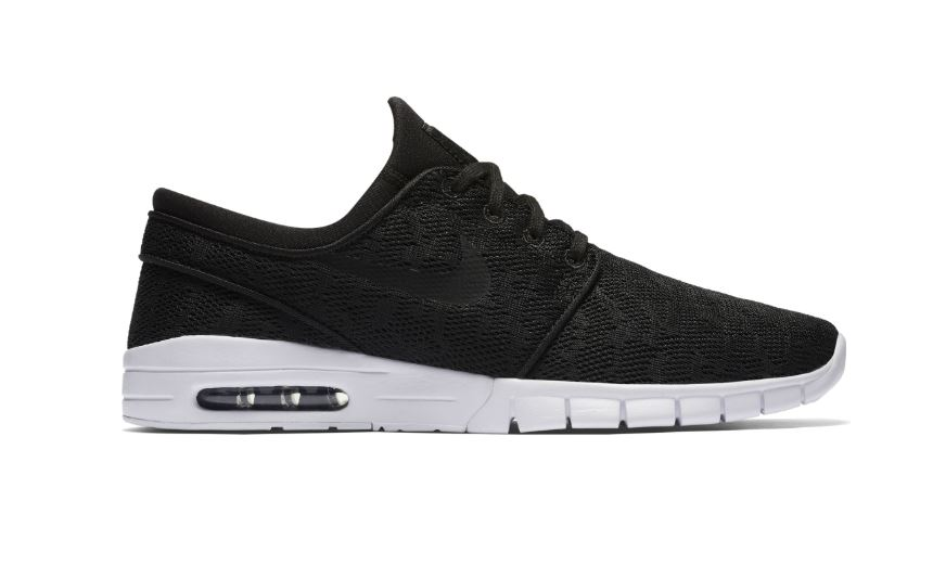 Nike SB Stefan Janoski Max Black/Black/White Shoes