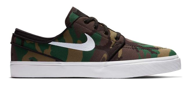Nike SB Zoom Stefan Janoski Camo Shoes