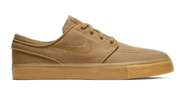buy online cf27c 85e98 Nike SB Zoom Stefan Janoski Golden Beige Gum Yellow Shoes