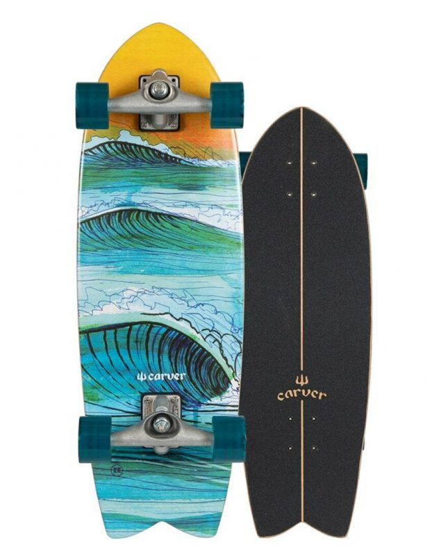 Carver Swallow 29 Surfskate Complete CX Trucks