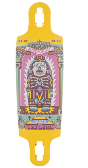 "Landyachtz Drop Cat 33"" Illuminacion Deck"
