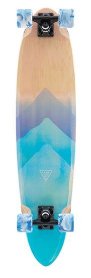 Landyachtz Super Chief Watercolor 36 Longboard Skateboard Complete
