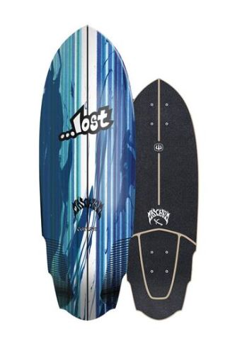 "Lost x Carver V3 Rocket 30"" Deck"