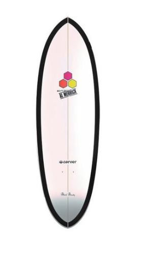 "Lost x Channel Islands Black Beauty 31.75"" Deck"