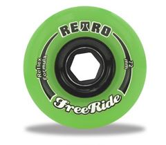 Abec 11 'Retro' FreeRide Reflex Formula 72mm x 80a Wheels